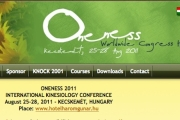 Oneness Kinesiology Congress 2011 Hungary Report