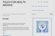 Touch for Health Journal Ressources online